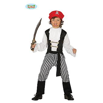 Striped Pirate Costume pirate kids costume Bucanero