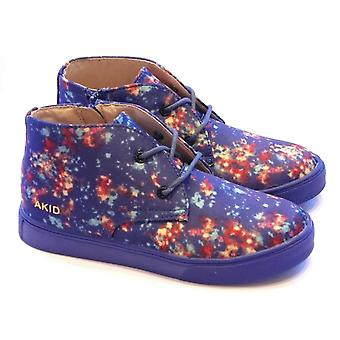 Akid Akid Funky Boots With Galaxy Print