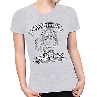 Gamgees Potatoes Lord Of The Rings Women's T-Shirt