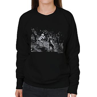 De weglopers Sheffield University 1976 Women's Sweatshirt