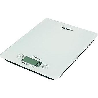 Letter scales VOLTCRAFT TS-5000/1 Weight range 5 kg Readability