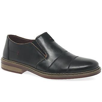 Rieker Stan Mens Formal Slip On Shoes