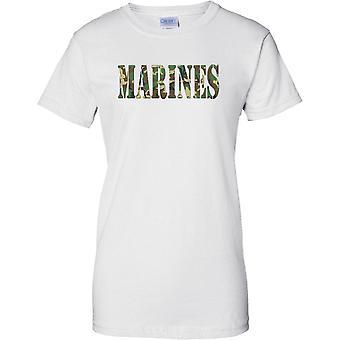 Marines - USMC - Royal Marines - Niederländisch - elitären Seestreitkräfte - Damen-T-Shirt