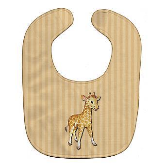 Carolines Treasures  BB7144BIB Giraffe Baby Bib