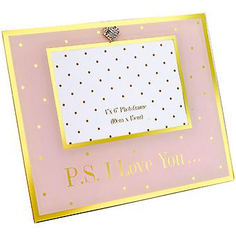 Lesser And Pavey Mad Dots PS I Love You Photo Frame