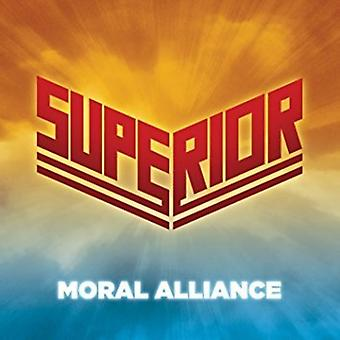 Superior - moralske Alliance [CD] USA importerer