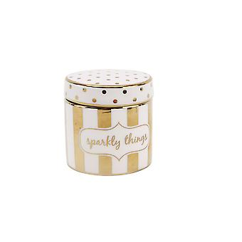 (CGB) Giftware Absolutely Fabulous Sparkly dingen Trinket Pot