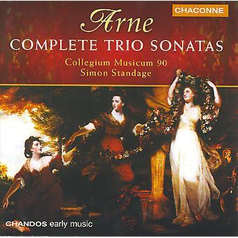 T. Arne - Arne: Komplett triosonater [CD] USA import