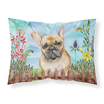 French Bulldog Spring Fabric Standard Pillowcase