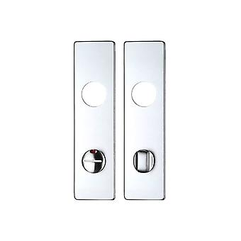 Zoo ZAAIP Cover Plate - Bathroom - 78mm C/c - Satin Aluminium - ZAA3SA78