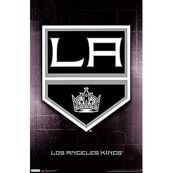 LA Kings - Logo 11 Poster afdrukken