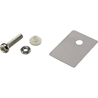 Semiconductor mounting set (L x W) 22.3 mm x 15.2 mm Suitable for TO 247 SCI
