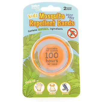 Safe & Sound Travel Kids Mosquito Repellent Bands