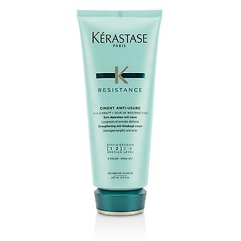 Kerastase Resistance Ciment Anti-Usure Strengthening Anti-Breakage Cream - Rinse Out (For Damaged Lengths & Ends) 200ml/6.8oz