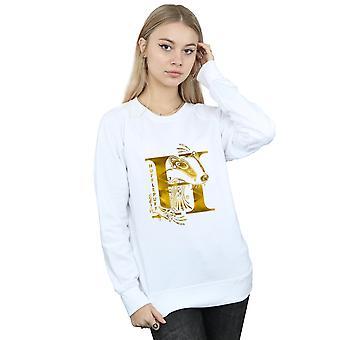 Harry Potter Women's Hufflepuff Badger Sweatshirt