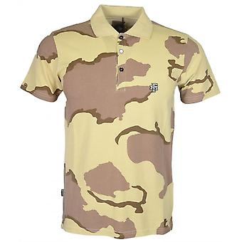 Franklin & Marshall Mf480 Cotton Desert Camo Polo