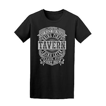 Drink First Think Later  Tee Men's -Image by Shutterstock