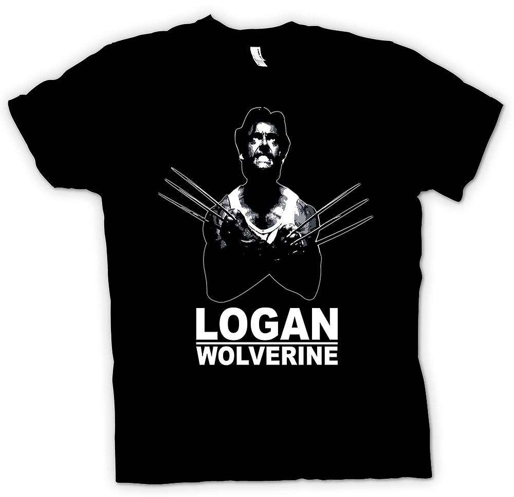 Womens T-shirt - Logan Wolverine - X - Men - Comic