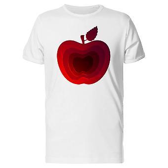 Modern Art Red Apple Tee Men's -Image by Shutterstock
