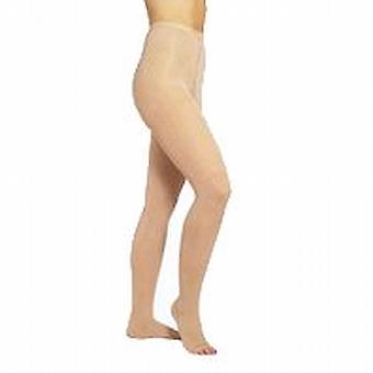 Pebble UK Medical Weight Toeless Compression Tights [Style P293] Beige  S