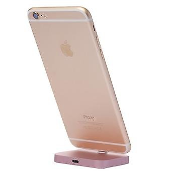 Dockingstation Ständer für Apple iPhone 7 7 Plus 6S 6 & 6 6S Plus iPhone SE Rose Gold