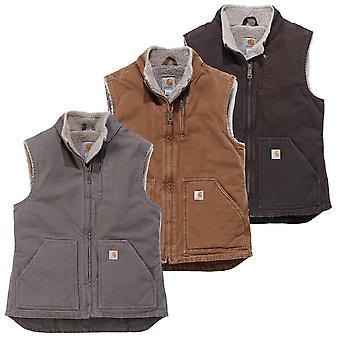Carhartt ladies winter jacket sandstone mock neck