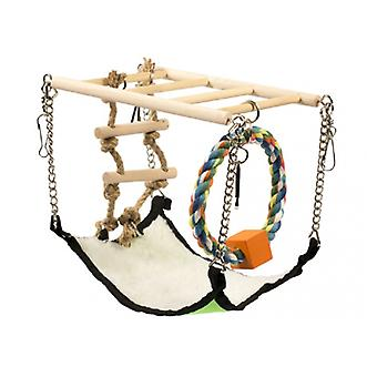 Duvo Suspension Wooden Bridge (Small pets , Cage Accessories , Bridges & Stairs)