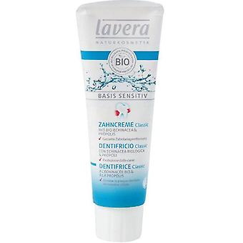 Lavera Basis Sensitiv Toothpaste With Organic Echinacea and Propolis 75 ml