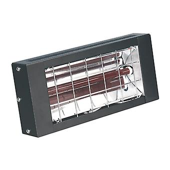 Sealey Iwmh1500 Infrared Quartz Heater - Wall Mounting 1500W/230V