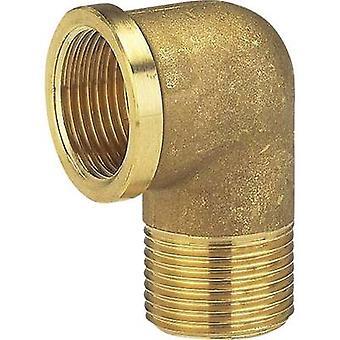 Brass Elbow piece 39.0 mm (1 1/4) IT, 41.91 mm (1 1/4) OT