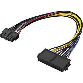Cable de corriente [1 x ATX poder enchufe de 14 pines - 1 x ATX energía toma 24-pin] 0.25