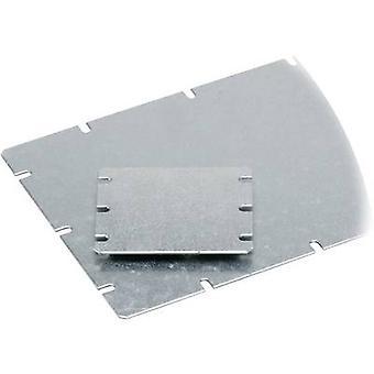 Mounting plate (L x W) 98 mm x 48 mm Steel plate Light grey Fibo