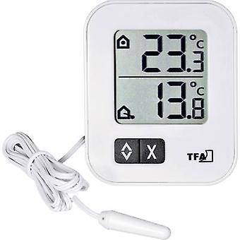 TFA 30.1043.02 termómetro blanco