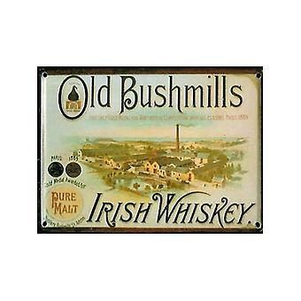 Bushmills Distillery Metall Postkarte / Min