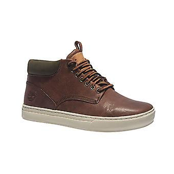 Timberland leather mens boots 2.0 Cupsole Chukka Brown