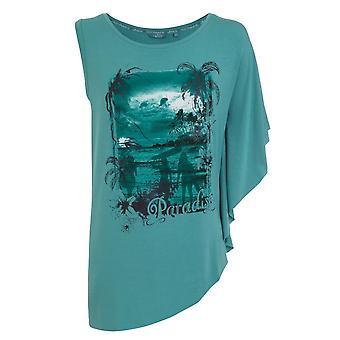 Jockey Women Blue Sapphire Paradise T-Shirt