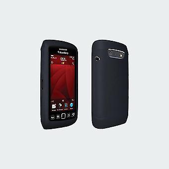 Housse Silicone de Verizon pour Blackberry RIM Torch 9850 (noir)