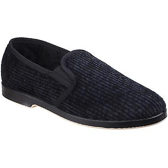 GBS Mens Lonsdale Mens Twin Gusset Comfortable Slippers