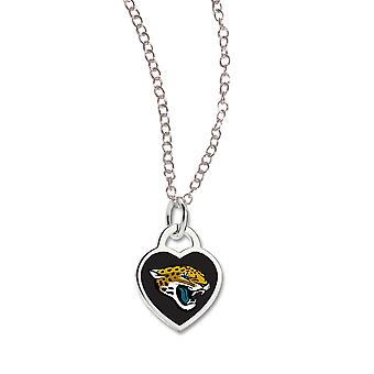 Wincraft ladies Heart Necklace - NFL Jacksonville Jaguars