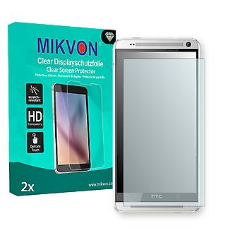 HTC One Max TD-LTE Screen Protector - Mikvon Clear (Retail Package with accessories)