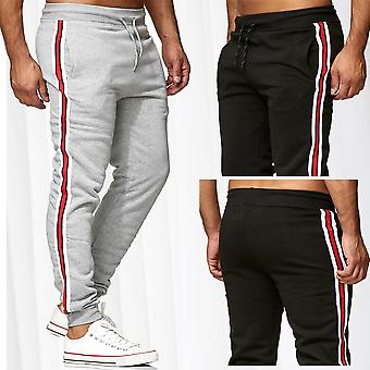 Men's Jogging Pants Sports Trousers Sweat Pants Training Stripes Track Pants