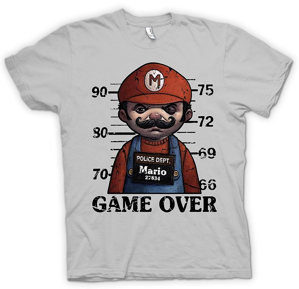 Mens T-shirt - Mario - Mok Shot - Funny