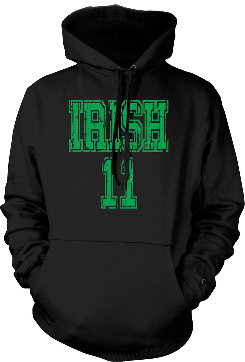 Mens Hoodie - St Patricks Day Irish 11 - Funny