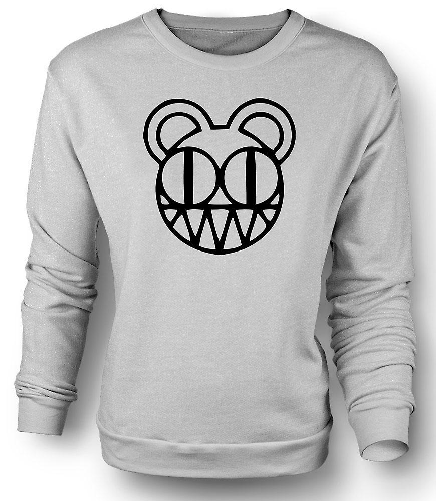 Mens Sweatshirt Radiohead - Radio On Head