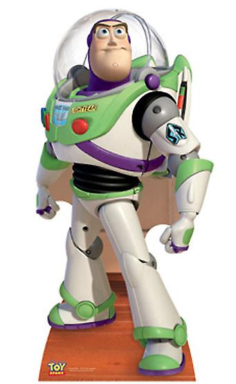 Buzz Lightyear (Toy Story) - Levensgrote Kartonnen Uitsnede / Standee
