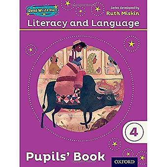 Lectura escritura Inc.: Libro alfabetización y lengua año 4 alumnos