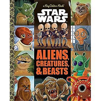 The Big Golden Book of Aliens and Creatures (Star Wars) (Big Golden Book)