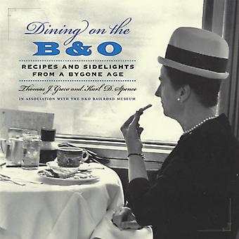 Salle à manger sur le B &; o: recettes et feux de côté d'un autre âge