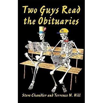 """Två killar Läs """"dödsannonser"""""""