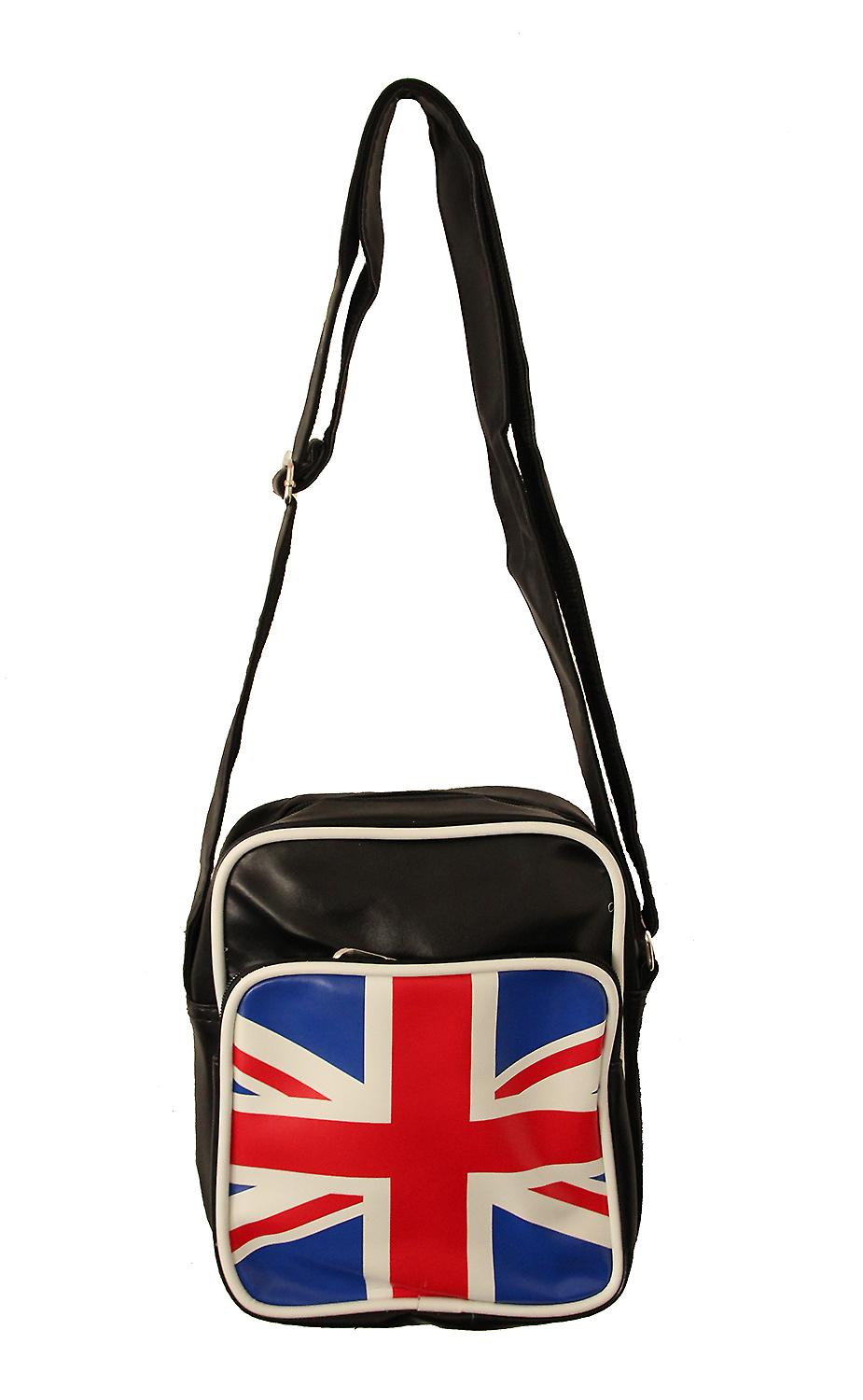 Waooh - Small Shoulder Bag Teddy English flag